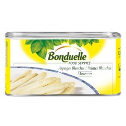 Asperges blanches 25/34 - 500g