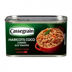 Haricots Coco cuisinés aux...