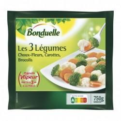 Les 3 Légumes Précuit...
