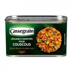 Légumes compotés pour...