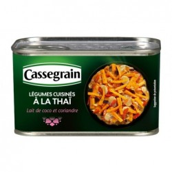 Légumes cuisinés à la Thaï...