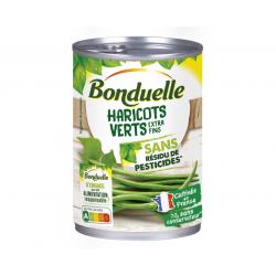 Haricots verts sans résidus...