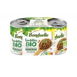 Lentilles bio 2x160g
