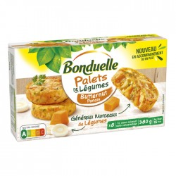 Palets de légumes butternut...