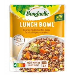 Lunch Bowl carottes, pois...