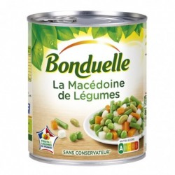 Macédoine de légumes - 530g